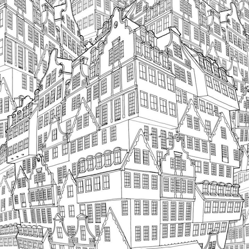 Additional Material FANTASTIC STRUCTURES A Coloring Book Of Amazing Buildings Real And Imagined