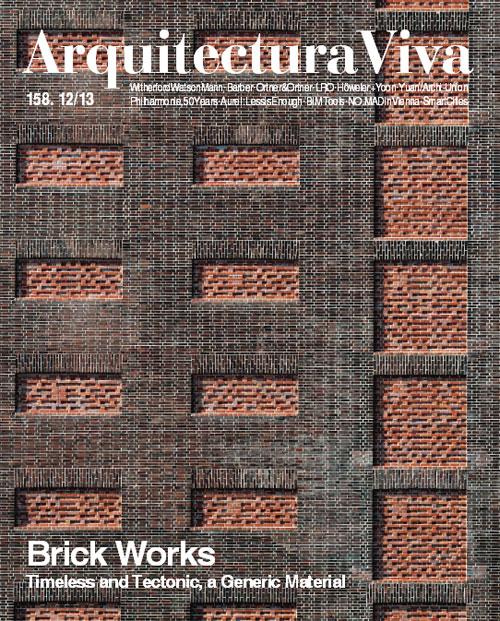 arquitectura viva 158 brick works timeless and tectonic a generic material arquitectura viva magazine - Arquitecturaviva