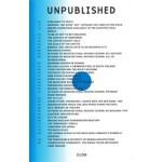 CLOG 08. UNPUBLISHED | 9780983820475 | CLOG Magazine