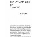 Renny Ramake1rs: Rethinking Design. Curator of Change | Aaron Betsky, Renny Ramakers | 9783037785690