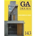 GA HOUSES 143. Newcomers in Japan | 9784871400916 | GA Houses magazine