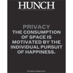 Hunch 15. Privacy