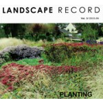 LANDSCAPE RECORD Vol.3/ 2015.06. planting design