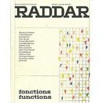 RADDAR no 01. fonctions  functions   9791095513032