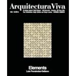 Arquitectura Viva 169. Elements. Luis Fernández-Galiano | Arquitectura Viva magazine