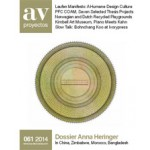 av proyectos 061. Dossier Anna Heringer | av proyectos magazine
