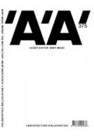 L'architecture d'aujourd'hui 378. Uncertainty | 'A'A magazine | Winy Maas, MVRDV, T?F | 9782918832041