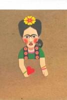 Artist pocket sketchbook. Frida Kahlo | 5033435990610 | noodoll