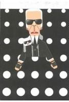 Artist pocket sketchbook: Karl Lagerfeld | 5033435991815 | noodoll