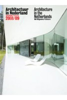 Architectuur in Nederland 2008/09. Jaarboek | Samir Bantal, JaapJan Berg, Kees Van Der Hoeven, Anne Luijten | 9789056626860