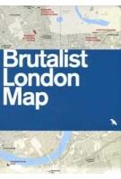 BRUTALIST LONDON MAP | Blue Crow Media | 9780993193453