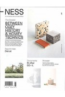 -NESS. On architecture, life and urban culture 01. Between Cozy History and Homey Technics | 9781732010604