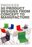 Process. 50 Product Designs from Concept to Manufacture - 2nd edition | Jennifer Hudson | 9781856697255