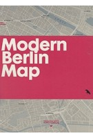 MODERN BERLIN MAP | Matthew Tempest | 9781912018000
