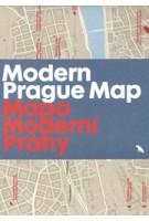 Modern Prague Map | Adam Štěch | 9781912018925 | Blue Crow Media
