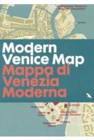 Modern Venice Map | Marco Mulazzani, Derek Lamberton | 9781912018956 | Blue Crow Media