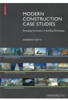 Modern Construction Case Studies Emerging Innovation in Building Techniques | 9783035610956 | Birkhauser