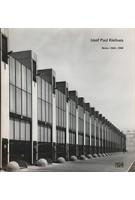 Josef Paul Kleihues - Werke 1966-1980 | Thorsten Scheer | 9783775720861 | Hatje Cantz Verlag