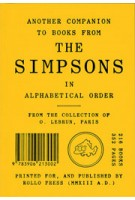 Another Companion to Books from THE SIMPSONS in Alphabetical Order | Olivier Lebrun | 9783906213002