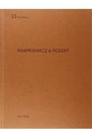 Knapkiewicz & Fickert. Aedibus 23 | Heinz Wirz | 9783907631898