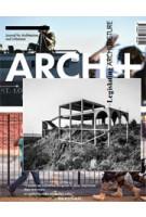 Legislating ARCHITECTURE | 9783931435349 | ARCH+