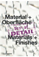 best of DETAIL Material + Oberfläche/Materials + Finishes | 9783955533229