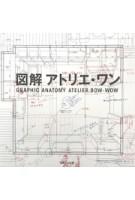 Graphic Anatomy. Atelier Bow-Wow | Yoshiharu Tsukamoto, Momoyo Kajima | 9784887062788 | TOTO