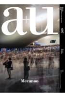 a+u 607. 2021:04. Mecanoo | 9784900212626 | a+u magazine