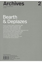 Archives 2. Bearth & Deplazes | 9788494767807 |