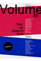 Volume 48. the research turn including Inset BLUE by Malkit Shoshan | 9789077966488 | ARCHIS