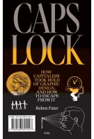 Caps Lock. How Capitalism Took Hold of Graphic Design, and How to Escape From It | Ruben Pater | 9789492095817 | Valiz