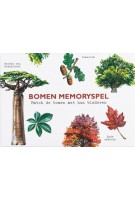 Bomen memoryspel. Match de bomen met hun bladeren   Tony Kirkham, Holly Exley   9789492938237   BIS