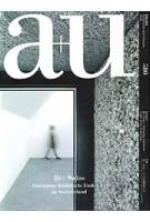 a+u 580 2019:01. Re: Swiss. Emerging Architects under 45 in Switzerland | a+u magazine