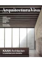 Arquitectura Viva 227. KAAN Architecten. Dossier: Containers | Arquitectura Viva | 9770214125004
