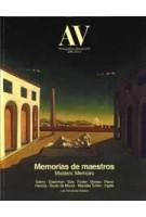 AV Monographs 235. masters' Memoirs | 9788409309702 | Arquitectura Viva