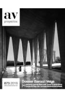 AV Proyectos 073. Dossier Barozzi Veiga   Arquitectura Viva