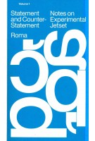 Notes on Experimental Jetset - Statement and Counter Statement
