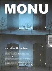 MONU 29. Narrative Urbanism