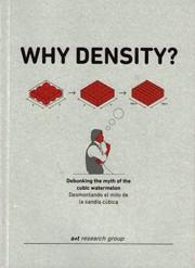 WHY DENSITY?