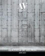 AV 157-158. Herzog & De Meuron 2005-2013