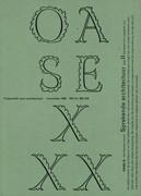 OASE 30. Sprekende architectuur II
