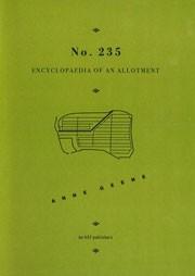 No. 235. Encyclopaedia of an Allotment