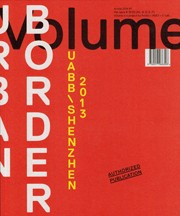 Volume 39. Urban Border