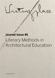 Writingplace. Journal for Architecture and Literature