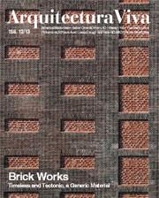 Arquitectura Viva 158. Brick Works