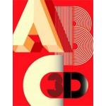 ABC3D   pop-up book   Marion Bataille   9781596434257