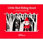 Little Red Riding Hood. An accordion book with scenes and cut-out shapes | Jacob Grimm, Wilhelm Grimm, illustrated by Clementine Sourdais | 9783899557237