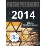 ARCHIPENDIUM 2014 calendar | 365 days full of architecture | 9783940874733