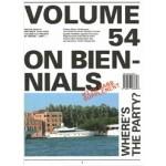 Volume 54. On Biennials + Supplement UABB 01-07 | 9789077966648 | Volume magazine