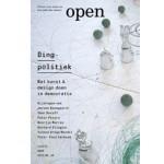 OPEN 24. Dingpolitiek. Wat kunst & design doen in democratie | Jorinde Seijdel, Liesbeth Melis, Jeroen Boomgaard, Peter Peters | 9789462080294